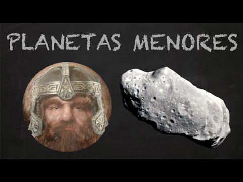 ¿QUÉ SON PLANETAS MENORES? Y centauros, plutoides y objetos transneptunianos.