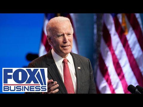 Joe Biden says he has picked his treasury secretary
