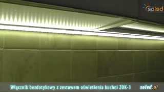 Oświetlenie Kuchni Led Oświetlenie Podszafkowe Blatu Kuchennego Włącznik Bezdotykowy
