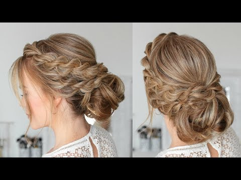 Double Twisted Low Bun | Missy Sue