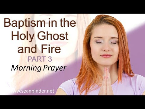 ACTS 2 - BAPTISM IN THE HOLY GHOST AND FIRE PART 3 - MORNING PRAYER (video)