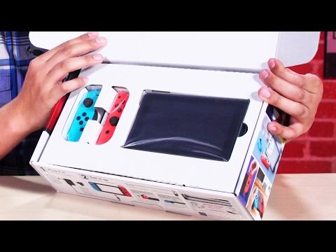 Nintendo Switch Unboxing - UCKy1dAqELo0zrOtPkf0eTMw