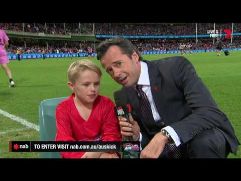 2017 NAB AFL Auskicker of the Year – Rd 3 Nominee