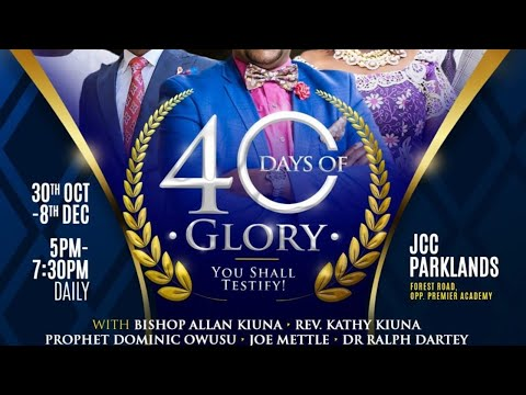 Jubilee Christian Church Live Service (40 Days Of Glory - Day 14) - 12th November 2019.