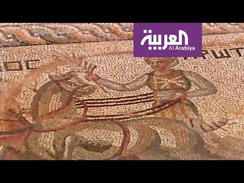 اكتشاف فسيفساء يعود تاريخها إلى القرن الرابع قبل الميلاد
