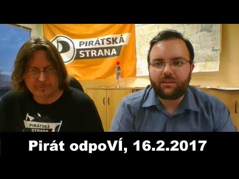 Pirát odpoVÍ, 16.2.2017