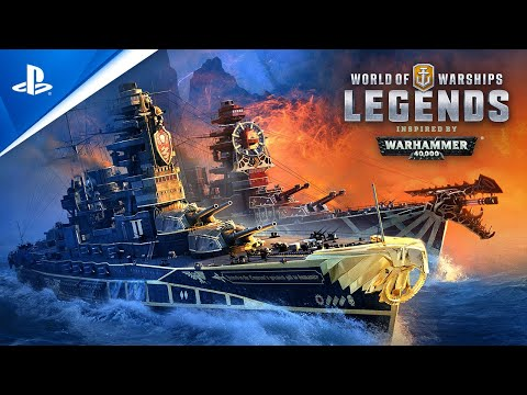 World of Warships: Legends – Turn the Tide with the 41st Millennium | PS4