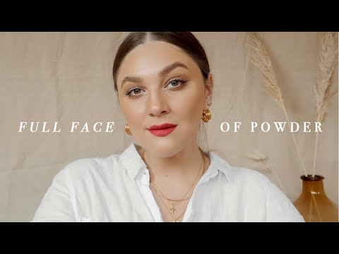 FULL FACE OF POWDER MAKEUP PRODUCTS | I Covet Thee