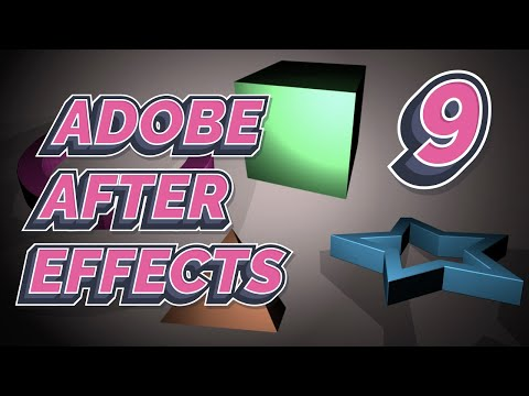 After Effects 2021 Tutorial 9
