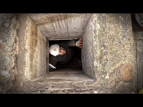 Renovating the Abandoned WW2 Bunker: Temporary Skylight
