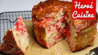 Recettes de cuisine : Hervé Cuisine Recette brioche moelleuse aux pralines roses en vidéo