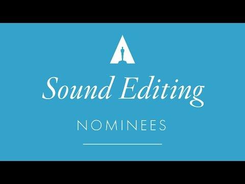 Oscars 2017: Sound Editing Nominees