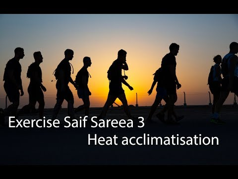 Exercise Saif Sareea 3   Heat acclimatisation