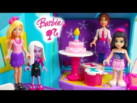 Barbie BIRTHDAY PARTY TIME Build 'n Style Lego Mega Bloks Playset Friends Cake Presents Set - UCelMeixAOTs2OQAAi9wU8-g