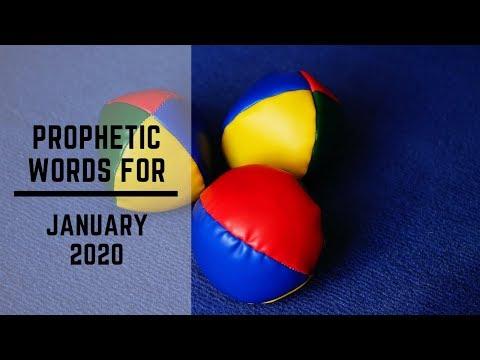 Prophetic Word January 2020
