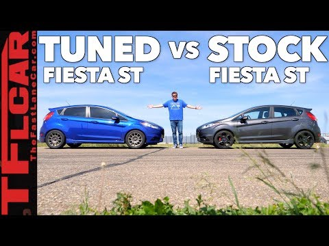 Game Show: Is a Ford Fiesta ST Faster Than a Tuned Fiesta ST?