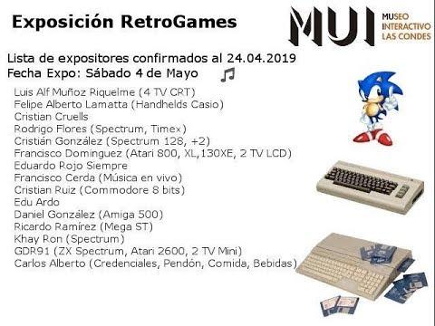 Exposición RetroGames: El Retro en Santiago de Chile por Cristián González