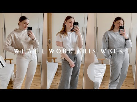A WEEK IN OUTFITS | WORKING FROM HOME | I Covet Thee