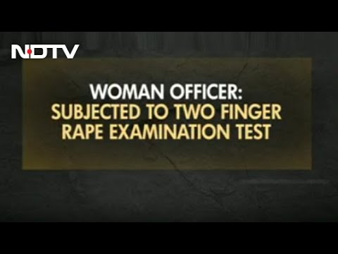 """""""Subjected To 2-Finger Test"""": Air Force Officer On Rape Case Probe"""