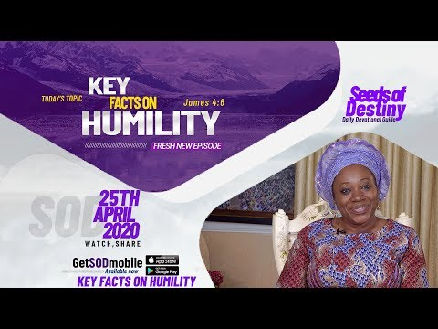 Dr Becky Paul-Enenche - SEEDS OF DESTINY - SATURDAY, 25TH APRIL, 2020