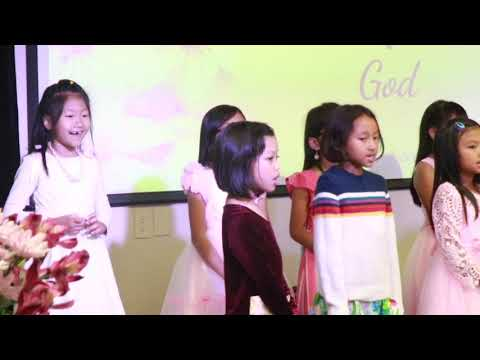 FCCI CE NIGHT 2019  KINDERGARDEN PRAISE DANCE