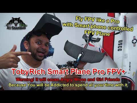TobyRich Smart Plane Pro FPV Plus Unboxing and Flight Demo Review - UCsFctXdFnbeoKpLefdEloEQ