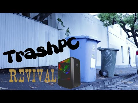Trash Picked PC | Can we save it?