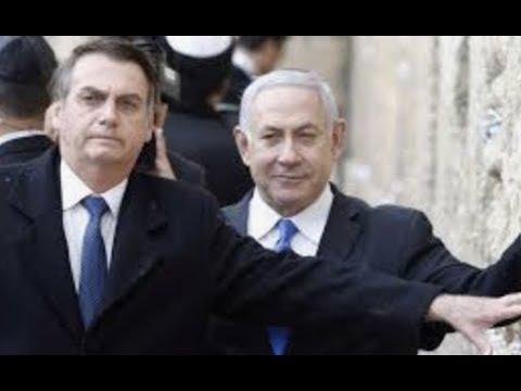 Breaking Brazil President Prays At Wall In Jerusalem Blesses Golan Heights