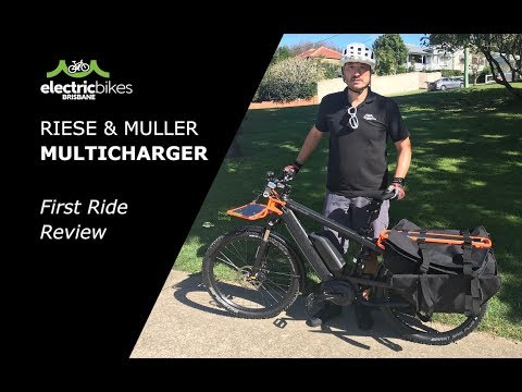 Riese & Muller Multicharger E-Bike -  First Ride Review | Electric Bikes Brisbane