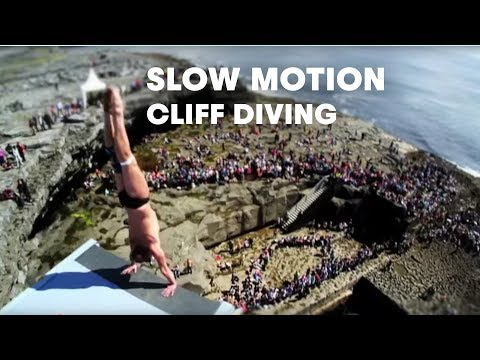 Slow Motion Cliff Diving Inis Mór - Red Bull Cliff Diving World Series 2012 - UCblfuW_4rakIf2h6aqANefA