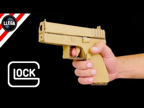 How To Make Cardboard Glock 17