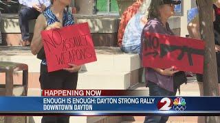 Enough is Enough Dayton rally