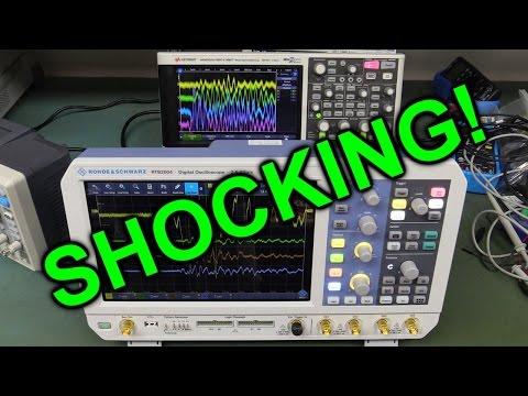 EEVblog #983 - A Shocking Oscilloscope Problem! - UC2DjFE7Xf11URZqWBigcVOQ
