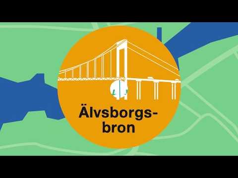 Älvsborgsbron – Sommararbeten i Göteborg