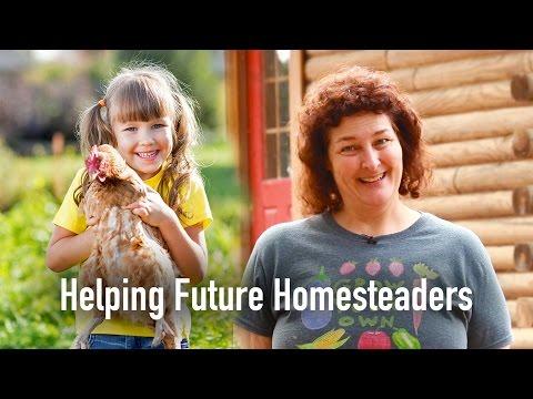 Becky Helps A Future Homesteader