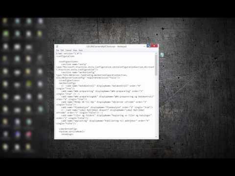 Installere GISLINE Server Klient
