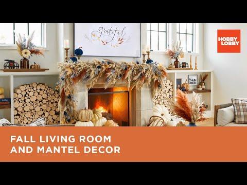 Fall Living Room & Mantel Decor | Hobby Lobby®