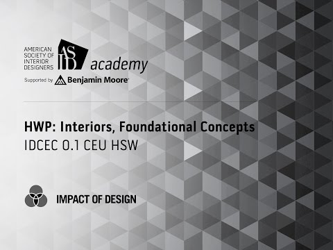 Course Preview: HWP: Interiors, Foundational Concepts (1)