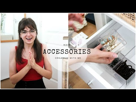 My Hair Accessory Drawer | Organize With Me