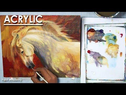 Horse Acrylic Painting | Fine Art painting