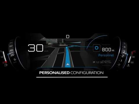 Nya PEUGEOT 3008 SUV | Head-up digital cluster