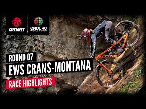 EWS Crans-Montana Full Highlights   Enduro World Series 2021 Round 7