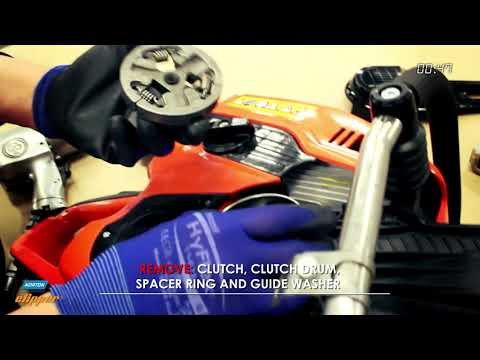 CP512/514 - Dismounting the clutch