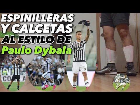 "Espinilleras y calcetas estilo ""Paulo Dybala"" | Juega como profesional | - UCnmP43VBG490keQgSIbGY0g"