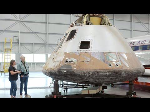 Adam Savage Visits National Air and Space Museum's Restoration Hangar! - UCiDJtJKMICpb9B1qf7qjEOA