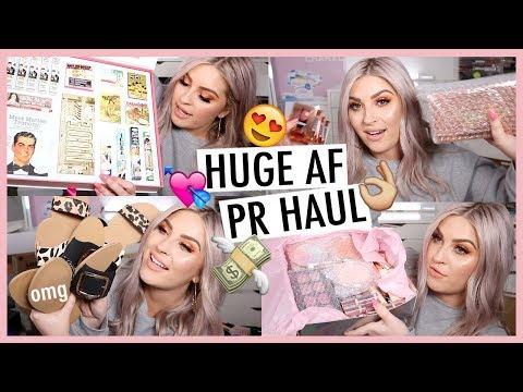 """MAKEUP HAUL! ? PR Unboxing Haul *Whats New In Makeup""""!* ?"""