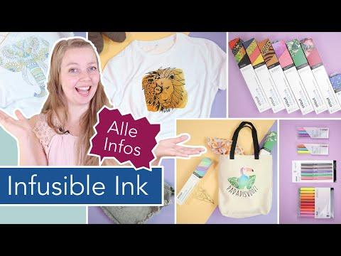 Plotten mit Cricut und Infusible Ink: Mehrfarbig, Stifte, Rohlinge, Baumwollstoff und vieles mehr!