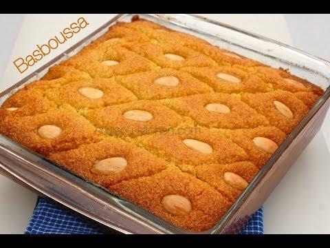 Recette de Basboussa-وصفات رمضانية- بسبوسة Recette de Ramadan 2014/Basboussa Recipe - UCmCXCupUyIdWchmM0TtPV1Q
