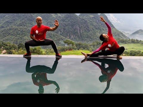 Wing Chun Tai Chi Training HANOI - PULUNG in Vietnam | Master Wong