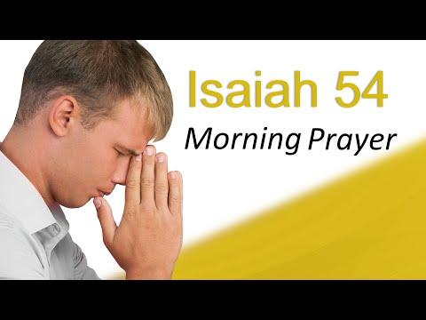 THE WEAPON FORMED WILL NOT PROSPER - MORNING PRAYER